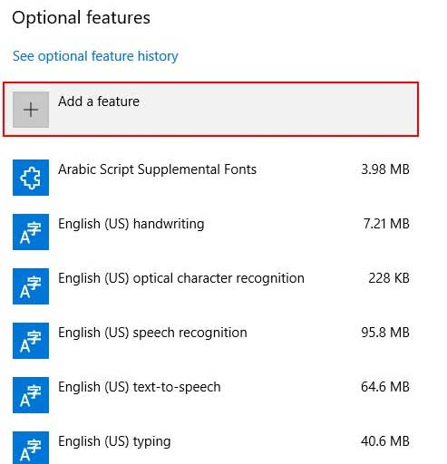 Add New Feature To Windows 10