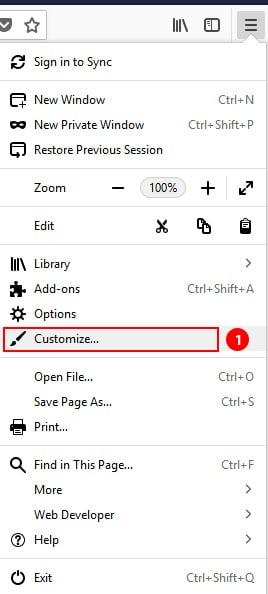 Firefox Customize
