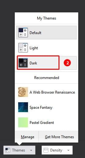 Firefox Dark Theme