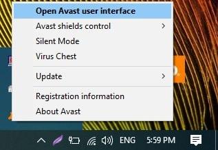 Open Avast