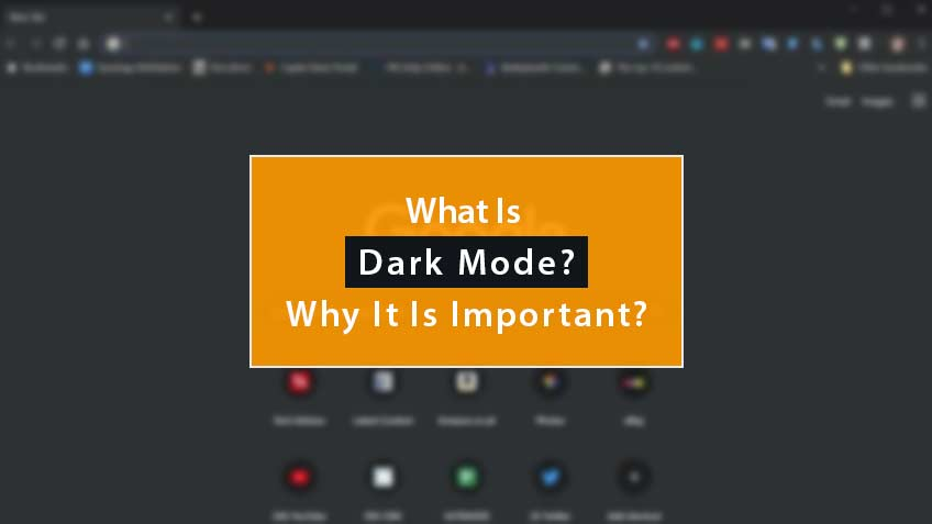 What Is Dark Mode