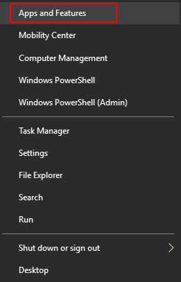 Apss And Feature From Windows