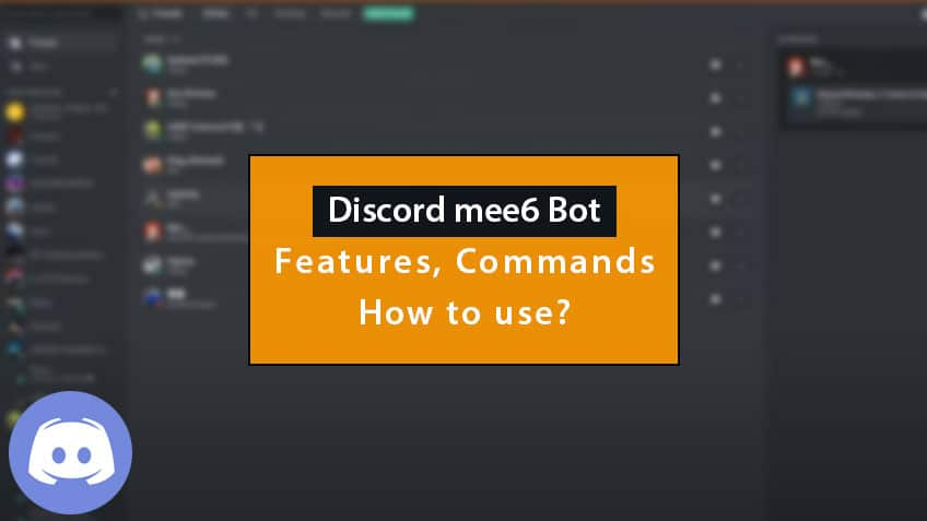 discord mee6 bot